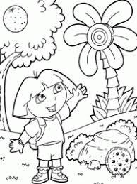 Dora Kleurplaten Topkleurplaatnl