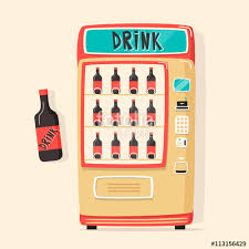 Vending Machine Software Free Download Beauteous Vintage Vending Machine With Drinks Retro Style Purchase Of Water