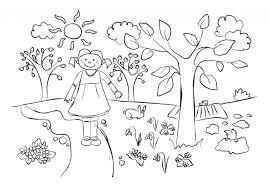Kindergarten Kindergarten Spring Color Worksheets Printable ...