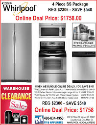 Kitchen Appliances Package Deals Whirlpool Kitchen Appliance Packages All About Kitchen