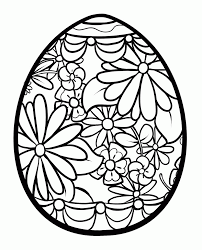 Download our easter egg coloring pages! Detailed Easter Egg Coloring Pages Coloring Home