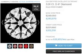 Flawless Diamond Price Chart 3 Carat Diamond Ring Shopping Tips And Price Guide