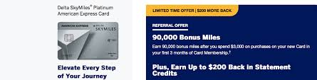 co branded delta credit card offers
