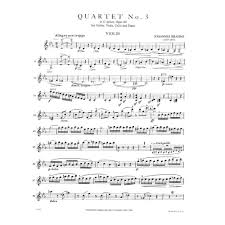 brahms johannes piano quartet no in c minor op for violin  brahms johannes piano quartet no 3 in c minor op 60 for violin viola cello and piano international edition shar music com