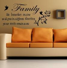 wall art ideas design family decal stickers wall art with es