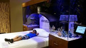 Modest Aquarium Headboard Remodelling By Bedroom View New At Fish Tank Over  Bed