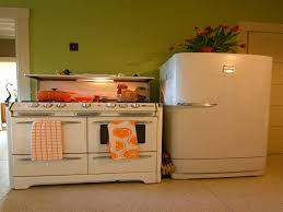 vintage looking kitchen appliances refinish with retro style stoves and ovens wood stove old fridge antique