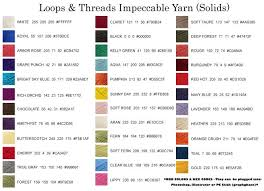 Loops And Threads Impeccable Yarn Colors With Text Loops