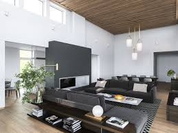 Modern Homes Interior 3 Modern Homes In Many Shades Of Gray
