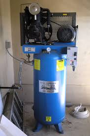 eaton 5 hp 2 stage compressor under the house