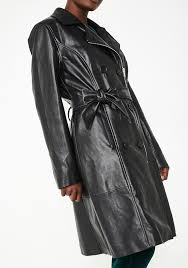 blank nyc the punisher trench coat