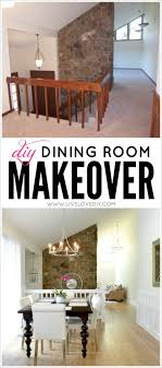 dining room makeover ideas. DIY Dining Room Makeover Ideas. Love This Post! So Many Practical Ideas On How