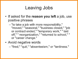 list of reasons for leaving a job good reason to leave job ideal vistalist co