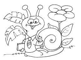 Dessin De Coloriage Escargot Imprimer Cp11047