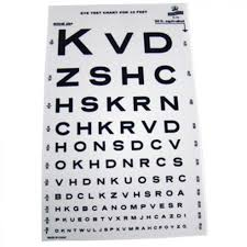 Eye Exam Snellen Chart 10 Snellen Eye Test Chart