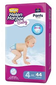<b>Helen Harper</b> трусики <b>Baby</b> 4 (8-13 кг) 44 шт. — купить по ...