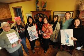 Monroe women continue the march