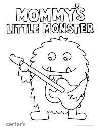 Mommy S Little Monster Is Ready