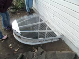 basement window well covers diy. We Made This Egress Window Well Cover Out Of 1 4 Inch Lexan And 1basement Liners Basement Covers Diy E