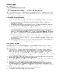 Recruiter Resume Objective Examples Your online newspaper for Kitchener Waterloo Cambridge and area 2