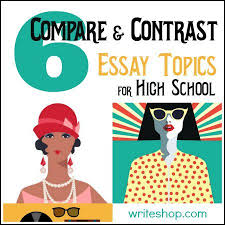 best compare and contrast examples ideas 6 compare and contrast essay topics