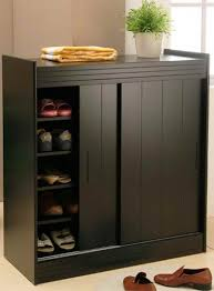 Home Accessories:Shoe Cabinets With Sliding Doors Shoe Cabinets With Doors