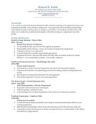 Good Examples Of A Resume New Richard R Kohls Resume 48