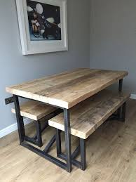 Beautiful Industrial Style Dining Table With Industrial Dining Industrial Look Dining Table