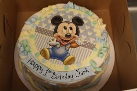 Cake Decorating Ideas 1st Birthday Boy Inspirational Mickey Mouse