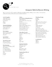 How To Write Skills In Resume Directory Resume Sample