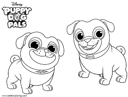 Cute Puppy Dog Pals Coloring Pages Auto Electrical Wiring Diagram