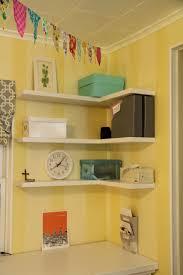 floating corner shelves floating