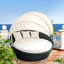 tags1 furniture modern outdoor daybed with canopy for unique patio daybeds  wicker rattan covered