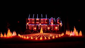 Auburn Football Christmas Lights Epic Christmas Lights Display Syncs With Auburn Fight Song