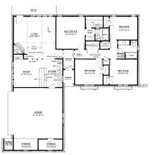 1500 sq ft cottage house plans lovely ranch style house plan 4 beds 2 baths 1500