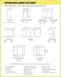 Kitchen Cabinet Dimensions Chart Standard Kitchen Cabinet Door Sizes Chart Are The Minimum