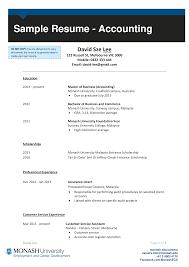 Resume Sample For Accounting Jobs Accounting Job Resume S Templates At