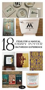 enjoy a magical bathroom experience with these awesome 18 harry potter bathroom decor ideas perfect