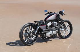 bobber 2007 harley davidson sportster custom boardtracker for sale