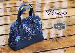 Blue Calla Patterns Amazing The Boronia Bowler Bag PDF Sewing Pattern Blue Calla Patterns