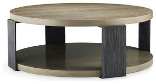 round modern coffee table for