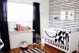 Kinderkamer Behang Zwart Wit Indrukwekkend Zwart Wit Babykamer Hip