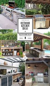 Do It Yourself Outdoor Kitchen 25 Best Ideas About Small Outdoor Kitchens On Pinterest Outdoor