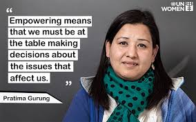 UN Women Nepal - Pratima Gurung is one of the prominent... | Facebook