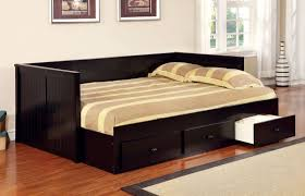 full size daybed with twin trundle. Contemporary Size Bedroom Bedroom Full Size Daybed With Trundle And Storage Black  Storag  Twin With And Drawers On  Intended