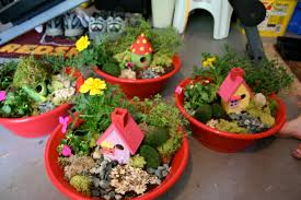 indoor fairy garden container ideas