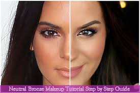 neutral bronze makeup tutorial png