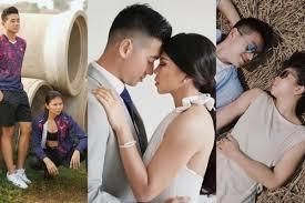 Hello baby, on this date 23rd last month, we got married. 9 Foto Prewedding Greysia Polii Dari Sporty Hingga Anggun