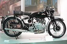 vincent et from 1950 at the deutsches zweirad und nsu museum