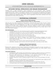 Best Professional Resume Examples Wonderful Retail Manager Resume Examples Retail Manager Resume Examples Sample